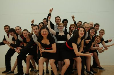 Rhythm Blasters at CSC 2010. Traditional pre-competition photo