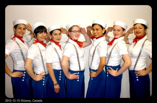 Sailor Girls routine 2012
