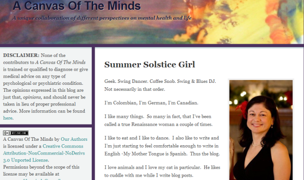 Summer Solstice Girl « A Canvas Of The Minds