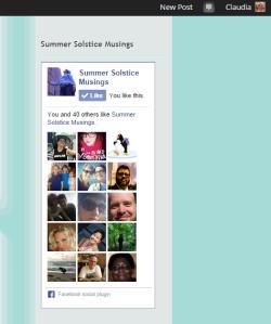 FB Page Widget