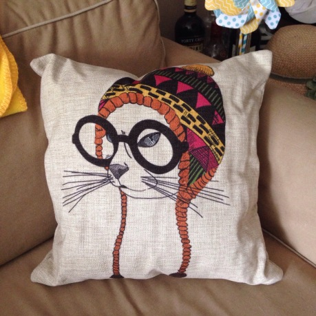 The most awesomest cushion ever
