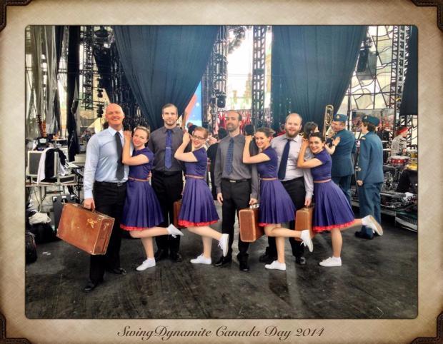 Swing Dynamite - Canada Day 2014